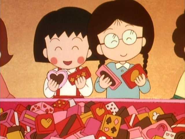 8話 「悲しきバレンタインデー」の巻/「花輪君 子供…