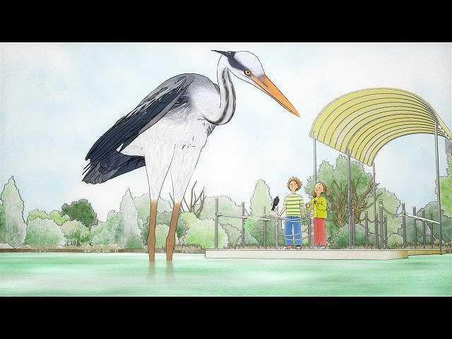 第4話 いざ公園へ!アオサギおねえさんと時を超えた湖…
