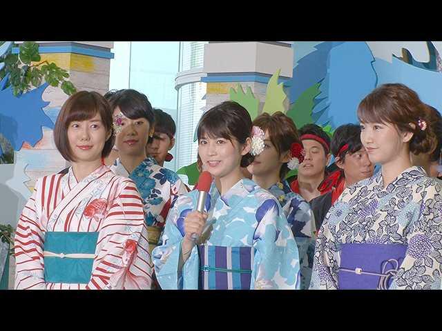 フジテレビ夏のイベント2018 PR隊の裏側に密着!