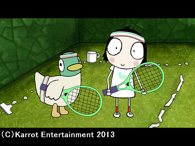 #14 (日本語吹替版)テニスのしあい
