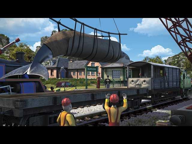 第7話 (日本語吹替版)トードとクジラ